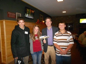 youth hunters with Govenor Brownback and Bass Pro Next Generation Kelsey Konrade