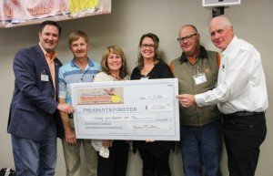 Pheasants Forever presented with Grant Award