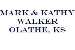 Mark & Kathy Walker Olathe, KS